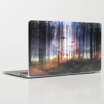 Absinthe forest Laptop & iPad Skin by HappyMelvin