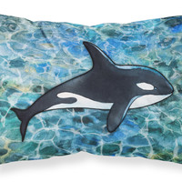 Killer Whale Orca Fabric Standard Pillowcase BB5348PILLOWCASE