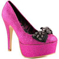 Abbey Dawn - Tough Crowd Platform - Hot Pink