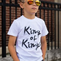 King of Kings Tee - White