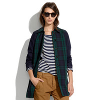 All-Weather Plaid Coat - jackets - Women's JACKETS & OUTERWEAR - Madewell