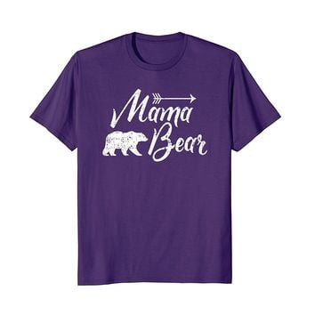 Mama Bear T-Shirt Womens Tee Shirt