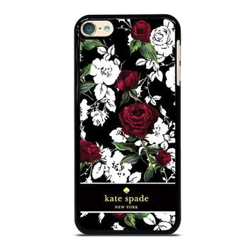 KATE SPADE ROSE RED WHITE iPhone Case