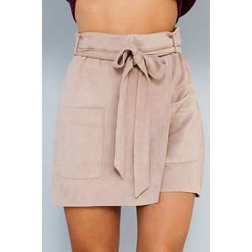 Golden Gate Skort (Taupe)