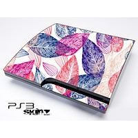 Seamless Abstract Floral Skin for the Playstation 3