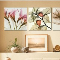 Living room dining room Frameless paintings of modern decorative painting triptych meter box fresco mural painting - hhsweet