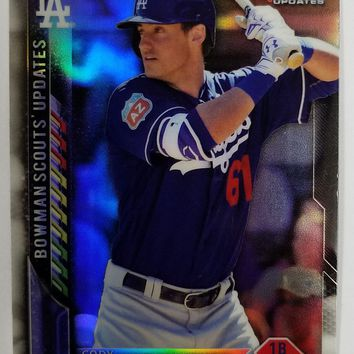 CODY BELLINGER ROOKIE CARD: 2016 Bowman Chrome Scouts Update #BSU-CB Dodgers