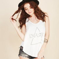 Relaxed Explore Tank | Wet Seal