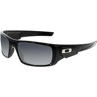 Oakley Men's Crankshaft OO9239-01 Black Rectangle Sunglasses