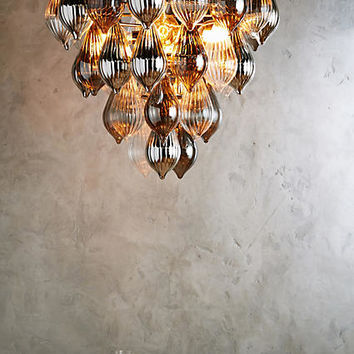 Clustered Droplet Chandelier