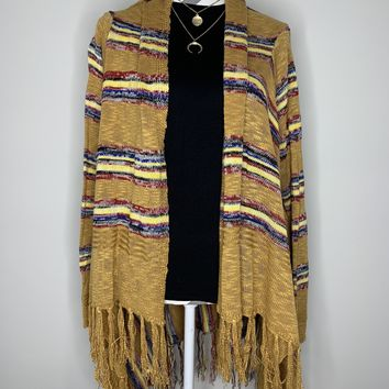Stripes of Fall Cardigan