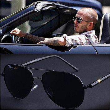 High Quality Aviator Polarized Sunglasses Men Brand Design Vintage Alloy Frame Men's Driving Sunglasses Male Sun Glasses Eyewear