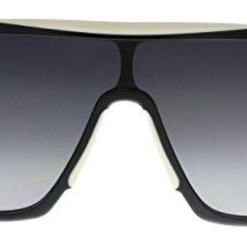 Sunglasses Givenchy 7040/S 0TEM Black White / 9O dark gray gradient lens