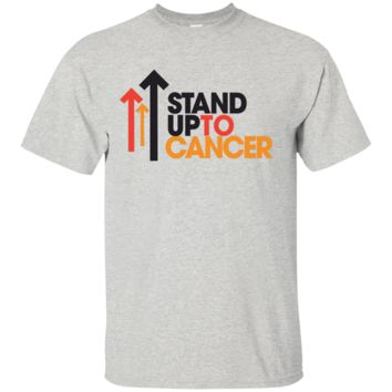 Clothing_Custom_Stand_Up_To_Cancer_for_Men_s_Royal_blue_T-Shirts