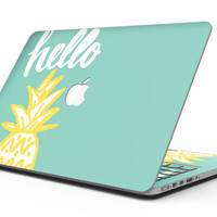 Well Hello Pineapple - MacBook Pro with Retina Display Full-Coverage Skin Kit