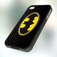 Batman Logo PB0128 Design For IPhone 4 or 4S Case / Cover
