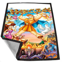 Disney Hercules e7f5aa73-44a7-4051-89c0-66c09f274a24 for Kids Blanket, Fleece Blanket Cute and Awesome Blanket for your bedding, Blanket fleece *02*