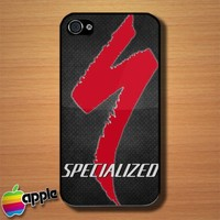 Specialized Logo Custom iPhone 4 or 4S Case Cover