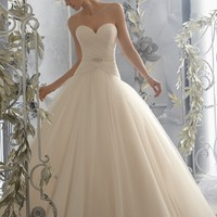 Voyage by Mori Lee 6788 Ball Gown Wedding Dress