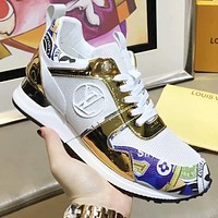 Louis Vuitton LV Newest Popular Woman Stylish Personality Sport Shoes Sneakers