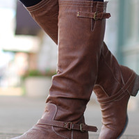 Outlaw Riding Boots {Tan}