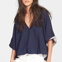 Women's Free People 'Away We Go' V-Neck Pullover