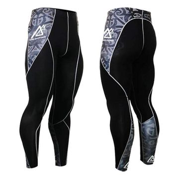 Life on Track-Mens Sublimation Training tights