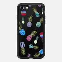 CRAZY PINEAPPLE for iPhone 6 Transparent Case iPhone 7 Hülle by Monika Strigel | Casetify