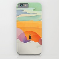 I Like to Watch the Sun Come Up - (White Version) iPhone & iPod Case by Amelia Senville | Society6
