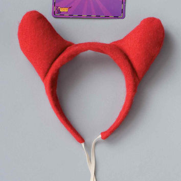 Felt Devil Horns Halloween Costume Accessory