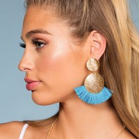 Bella Earrings - Turquoise