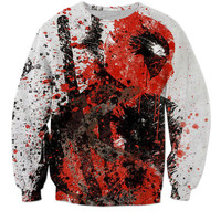 Deadpool splatter 02