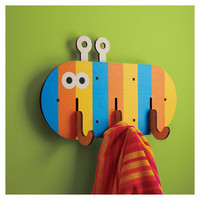 Bugsly 3D Wall Hooks - Cool Stuff for Kids Rooms!