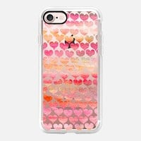 Hearts iPhone 7 Capa by Li Zamperini Art | Casetify
