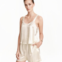 H&M Satin Camisole Top $34.99