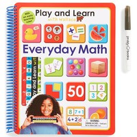 Boy's 'Play and Learn with Wallace - Everyday Math' Activity Book
