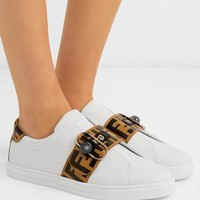 shosouvenir  FENDI  Leather sports shoes