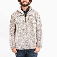 True Grit Frosty Tipped Pile Quarter Zip Pullover Available in Two Colors 61M65FTP