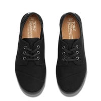 BLACK TO THE FLOOR CANVAS WOMEN'S PASEOS