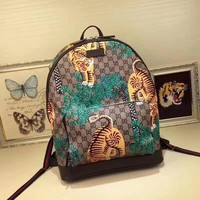 cc spbest Gucci Small Backpack Jungle Tiger