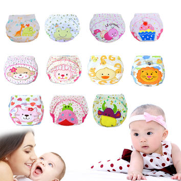Boys Girls Babies Breathable Washable Cloth Wrap Diaper Underwear Pant 100% Hot New