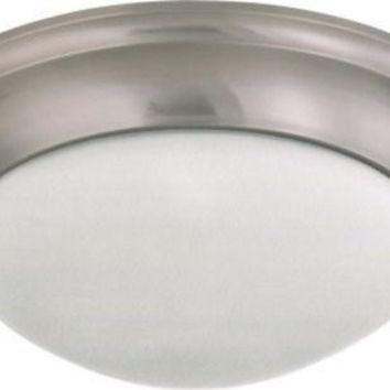 Nuvo 60-3273 - Twist & Lock Dome Large Flush Mount Ceiling Light