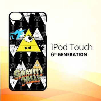 gravity falls bill cipher W3347 iPod Touch 6 Case