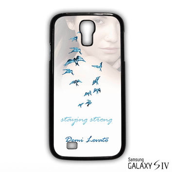 Demi Lovato Staying Strong for phone case Samsung Galaxy S3,S4,S5,S6,S6 Edge,S6 Edge Plus phone case