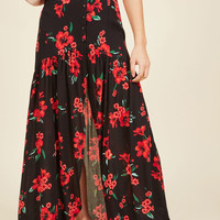 Simply Vent to Be Maxi Skirt