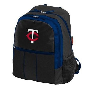MLB Minnesota Twins Victory Backpack Bag School Laptop Computer Tote Case