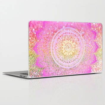 pink mandalas Laptop & iPad Skin by Haroulita