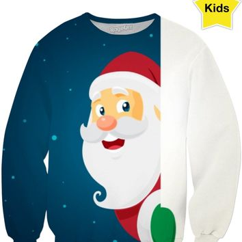 ROCS Santa's Watching Children's Sweatshirt