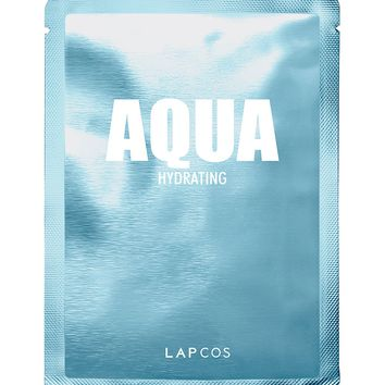 LAPCOS Aqua Face Mask 5 Pack