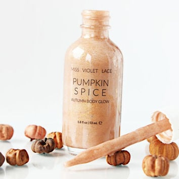 Pumpkin Spice Shimmer | Autumn Body Lotion | Fall Body Cream | 100% natural & vegan